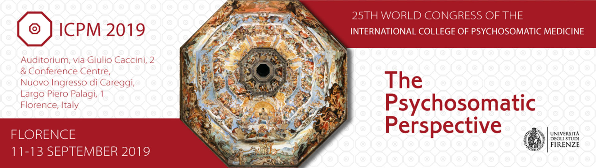 25th World Congress - Florence, Italy - 11/13 September 2019